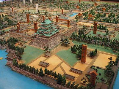 名古屋城模型コーナー