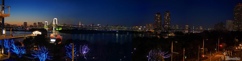 デックス東京ビーチからの夕景