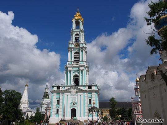 トロイツェ・セルギエフ大修道院の鐘楼