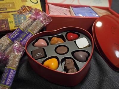 ヴァレンタインチョコレート