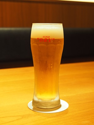 アサヒスーパードライ 生ビール