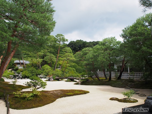足立美術館の庭