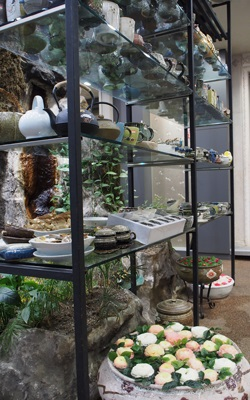 명가원の水盆