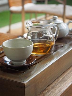 아름다운 차 박물관(アルムダウン茶博物館)の황차(黄茶)
